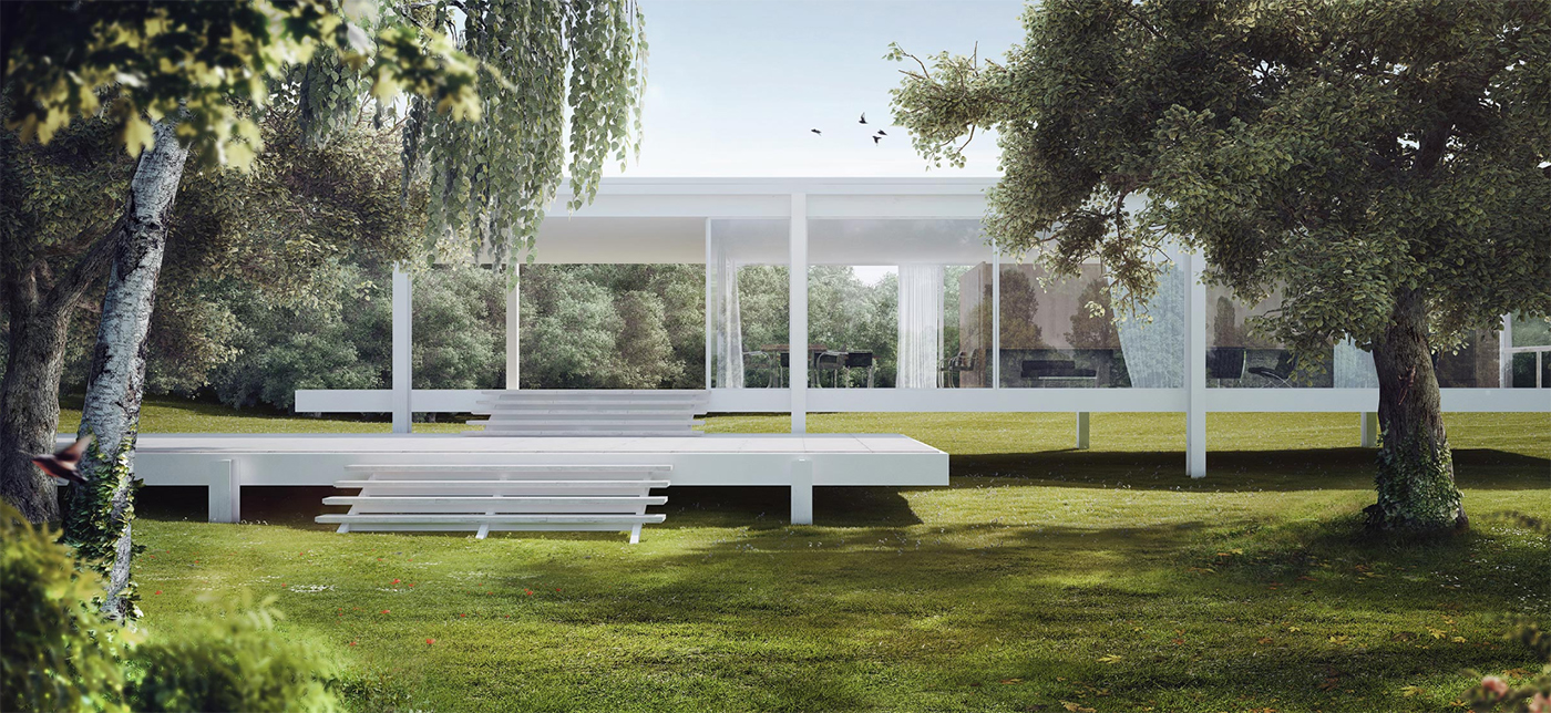 the making of farnsworth house by romuald chaigneau