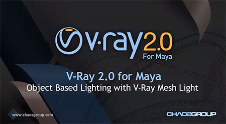 Object Based Lighting with V-Ray Messh Light